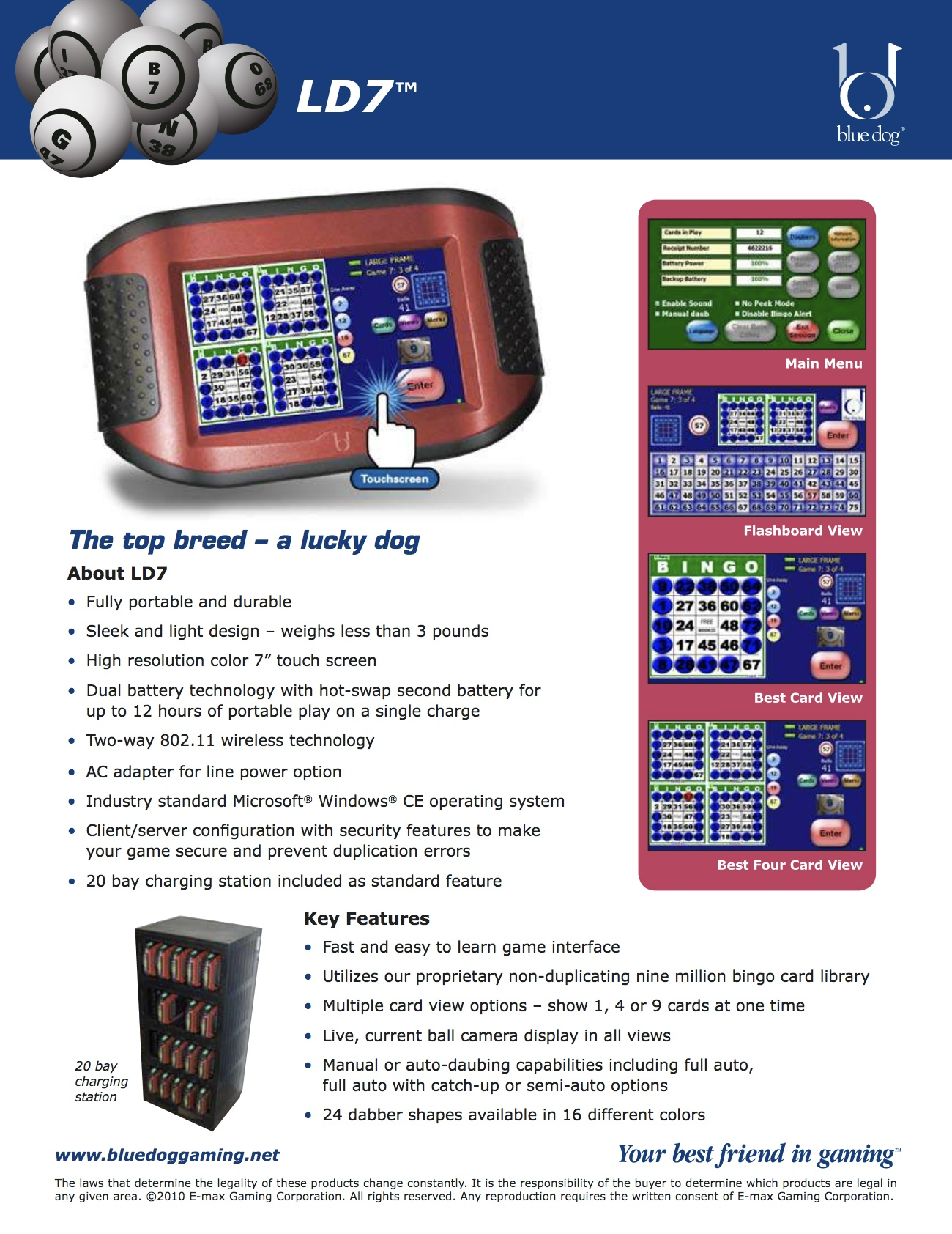 LD7 Flyer Promotional Materials/Equipment Flyers & Brochures