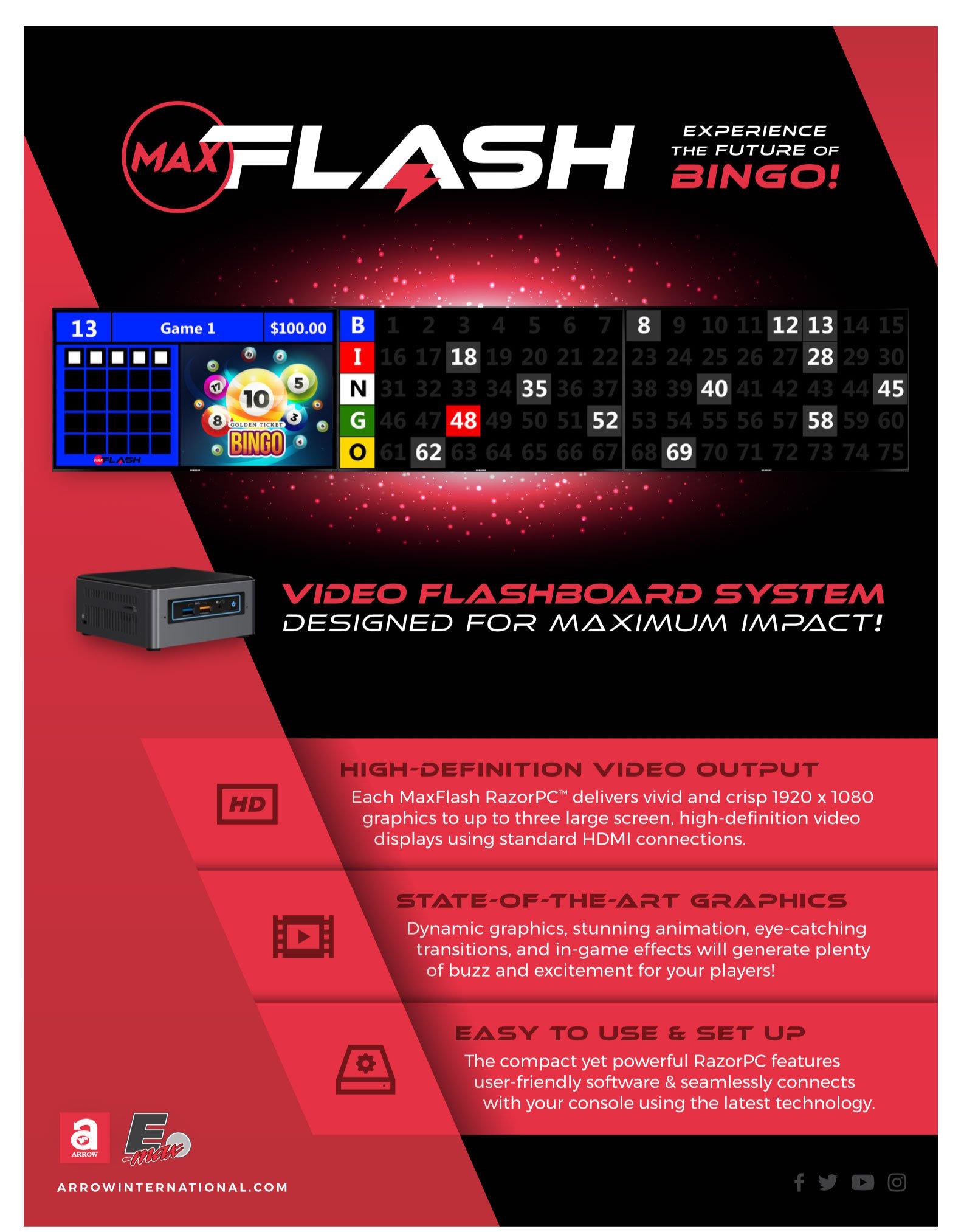 MaxFlash Flyer Promotional Materials/Equipment Flyers & Brochures