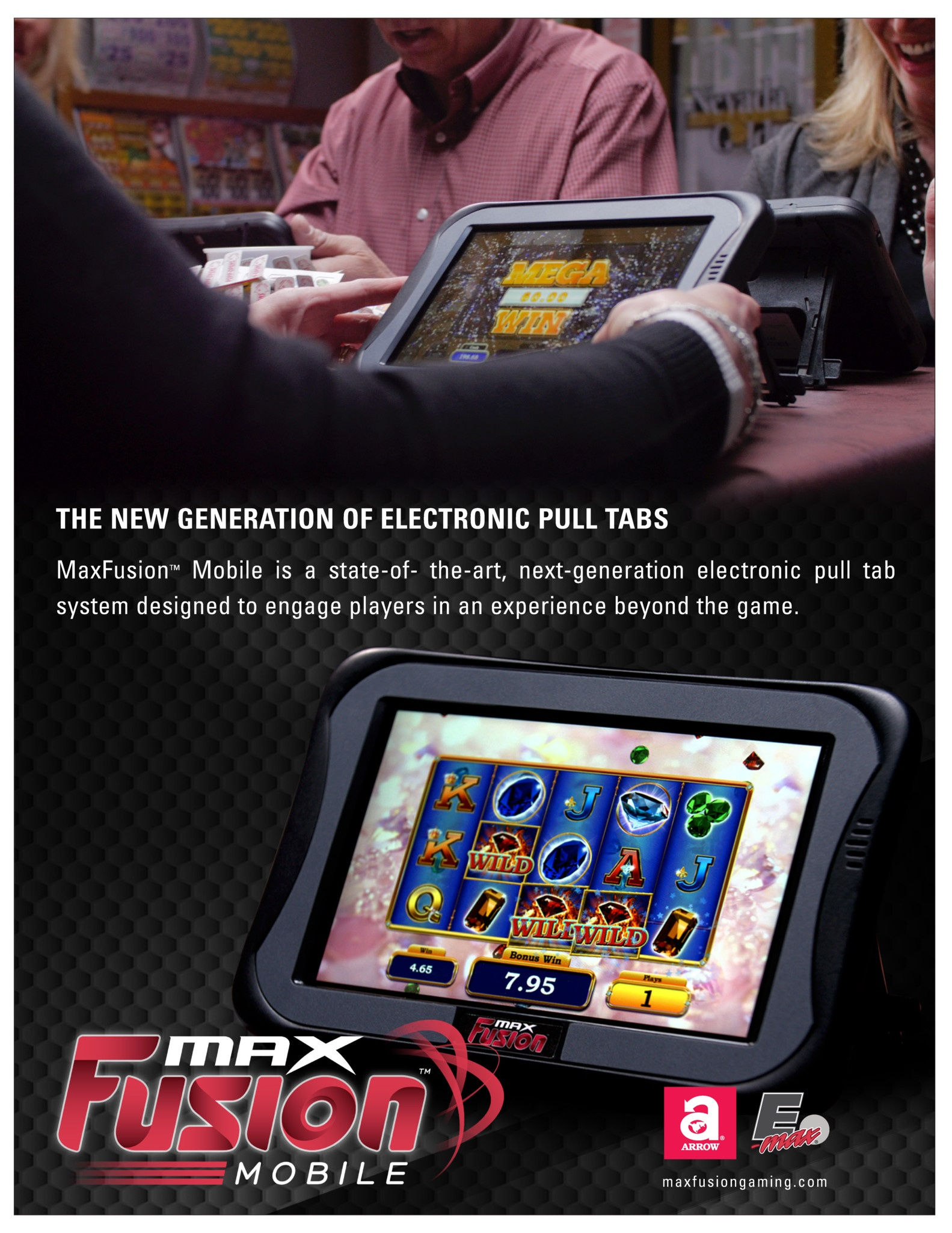 MaxFusion Mobile Flyer Promotional Materials/Equipment Flyers & Brochures