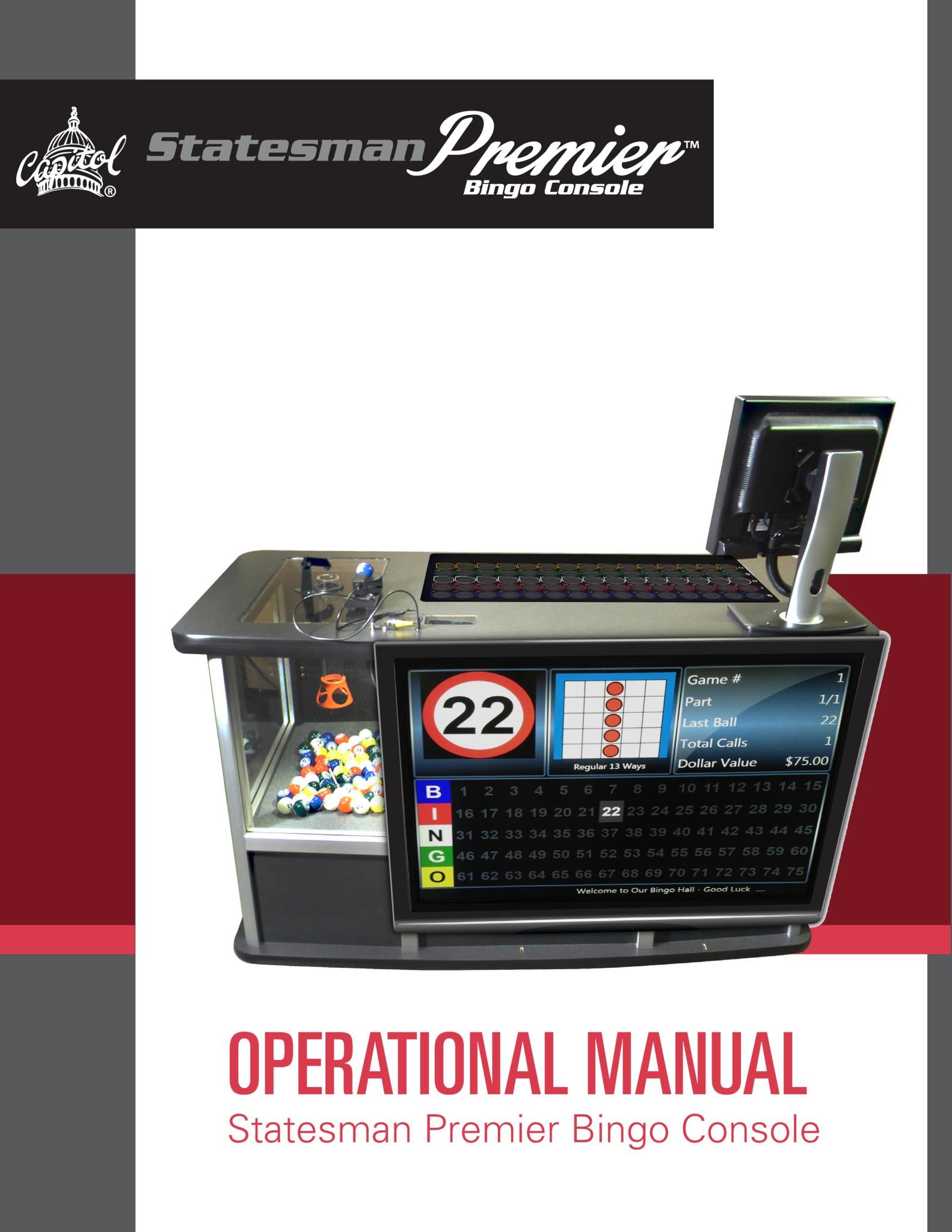 Statesman Premier Manual Equipment Manuals