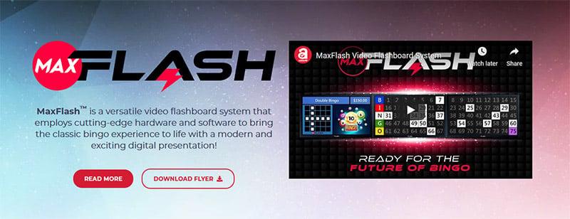 MaxFlash video flashboard system